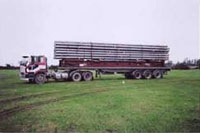 Over-length 40' flat racks from USA to NZ